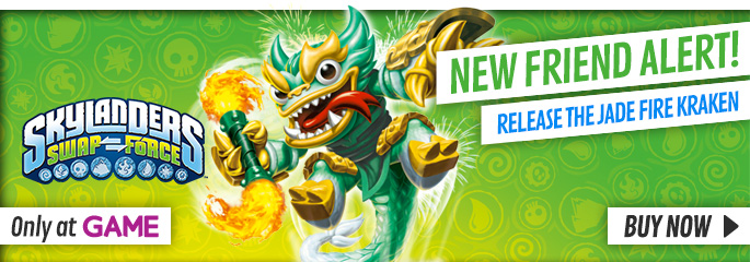 Jade Fire Kraken for Nintendo Wii - Preorder Now at GAME.co.uk!