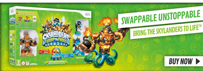 Skylanders Swapforce Starter Packs for Nintendo WiiU - Buy Now at GAME.co.uk!