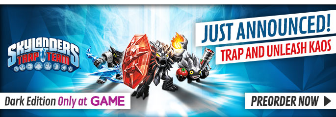Skylanders Trap Team Dark Edition for Nintendo Wii U - Preorder Now at GAME.co.uk!