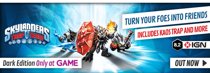 Skylanders Trap Team for Nintendo Wii - Out Now at GAME.co.uk!