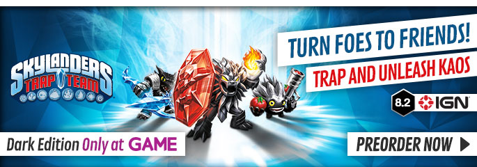 Skylanders Trap Team Dark Edition for Nintendo Wii - Preorder Now at GAME.co.uk!