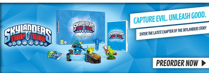 Skylanders Trap Team for Nintendo Wii - Preorder Now at GAME.co.uk!
