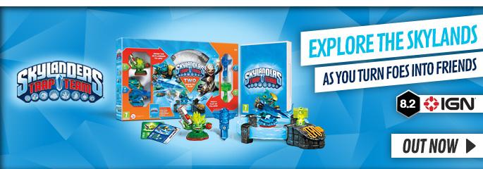 Skylanders Trap Team for Nintendo WiiU - Preorder Now at GAME.co.uk!