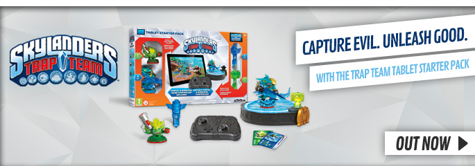 Skylanders Trap Team for Tablet - PreorderNow at GAME.co.uk!