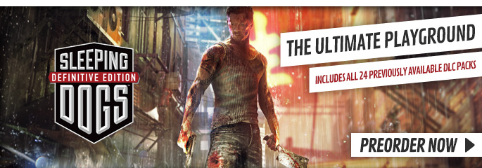 Sleeping Dogs: Definitive Edition for PC - Preorder Now at GAME.co.uk!