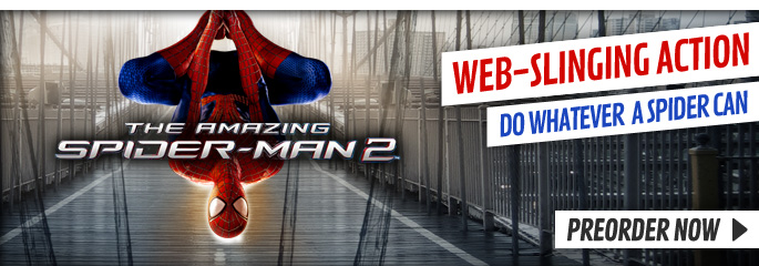 Amazing Spiderman 2 for Nintendo WiiU - Preorder Now at GAME.co.uk!