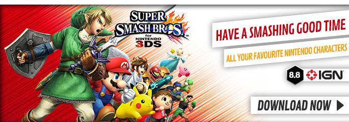 Super Smash Bros for Nintendo eShop - Download Now at GAME.co.uk!
