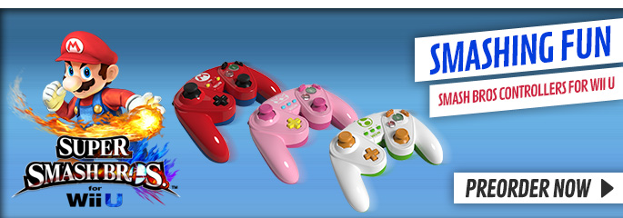 Super Smash Bros Controllers - Buy Now at GAME.co.uk!