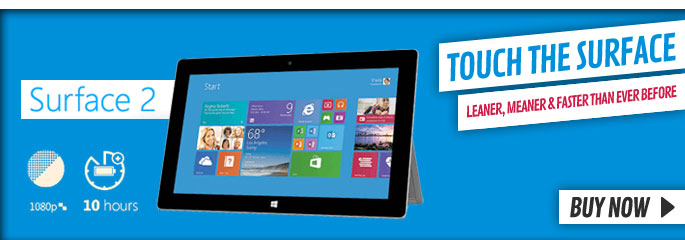 Microsoft Surface v2 - Order Now at GAME.co.uk!