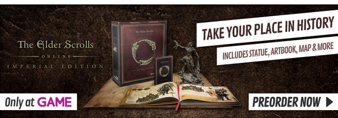 Elder Scrolls Online for PC - Preorder Now at GAME.co.uk