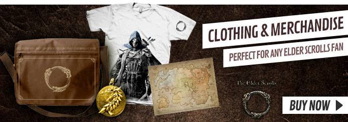 Elder Scrolls Online Merchandise - Now at GAME.co.uk!