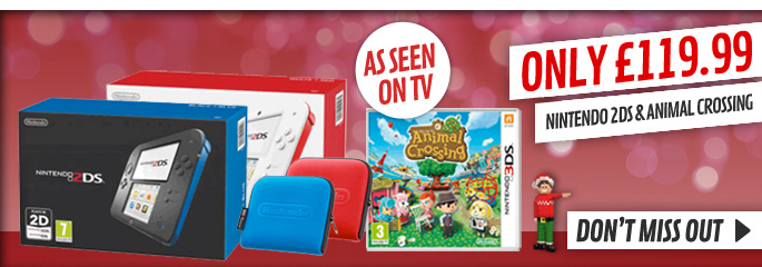 Nintendo 2DS TV Deal  - Buy Now at GAME.co.uk!