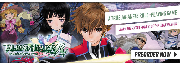 Tales of Hearts R for PlayStation Vita - Preorder Now at GAME.co.uk!