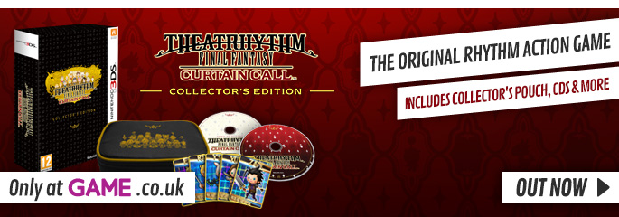 Theatrhythm Final Fantasy Curtain Call Limited Edition for Nintendo 3DS - Buy Now at GAME.co.uk!