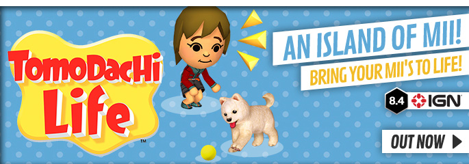Tomodachi Life for Nintendo eShop - Download Now at GAME.co.uk!