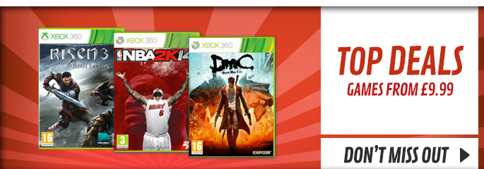 Top Deals on Xbox 360 - Buy Now at GAME.co.uk!