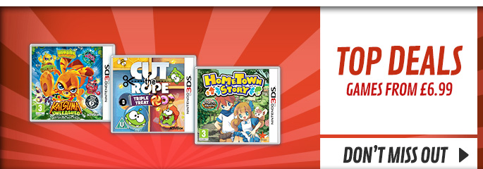 Top Deals for Nintendo 3DS - Buy Now at GAME.co.uk!