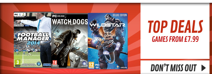 Top Deals for PC - Buy Now at GAME.co.uk!