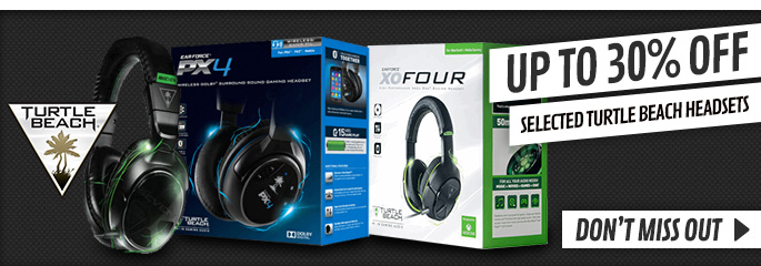Up to 30% off Turtle Beach Headsets - Buy Now at GAME.co.uk!
