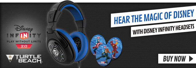Turtle Beach Disney Infinity Headset - Preorder Now at GAME.co.uk!
