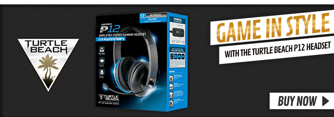 Turtle Beach P12 Headset - Buy Now at GAME.co.uk!