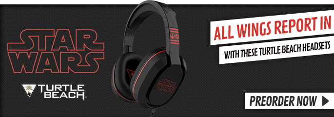 Turtle Beach Star Wars Head set - Preorder Now at GAME.co.uk!