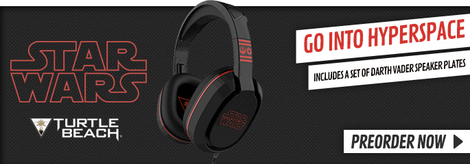 Turtle Beach Star Wars Headset - Preorder Now at GAME.co.uk!