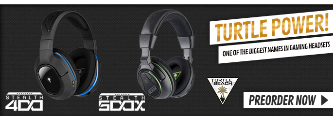 New Turtle Beach Headsets - Buy Now at GAME.co.uk!