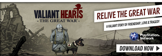 Valiant Hearts for PlayStation 3  - Download Now at GAME.co.uk!