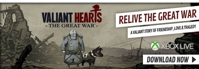 Valiant Hearts for Xbox 360 - Download Now at GAME.co.uk!