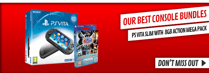 Top Bundles for PlayStation Vita - Buy Now at GAME.co.uk!