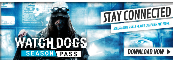 WatchDogs Season Pass  for PlayStation Network- Downloads at GAME.co.uk!