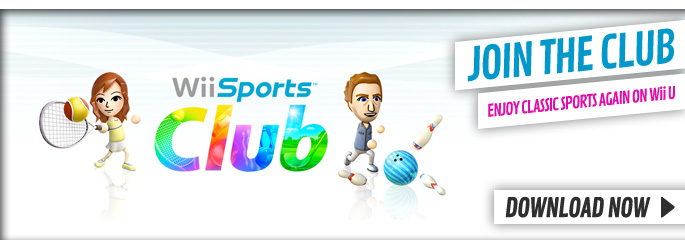 WiiU Sports Club eShop for Nintendo WiiU - Download Now at GAME.co.uk!