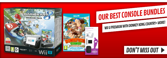 Nintendo Wii U Bundles - Buy Now at GAME.co.uk!