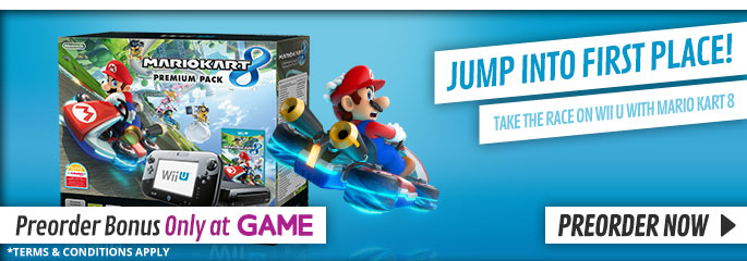 Mario Kart 8 Premium Pack - Preorder Now at GAME.co.uk