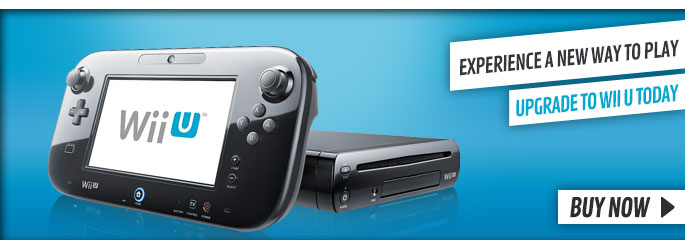 Upgrade to a Wii U Today - Buy Now at GAME.co.uk!