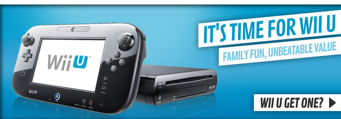 Nintendo Wii U  - Upgrade Now at GAME.co.uk!