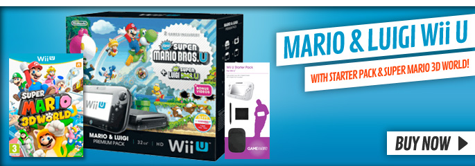 WiiU Bundles for Nintendo WiiU - xx Now at GAME.co.uk!