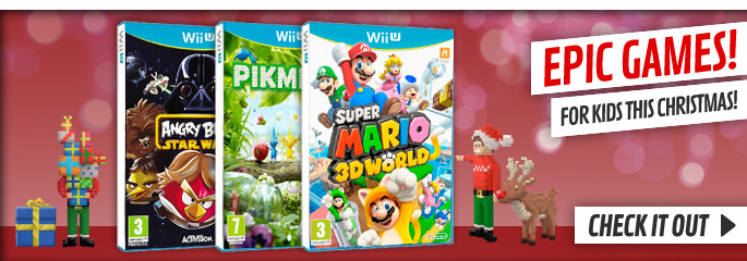 Kids Xmas Games for Nintendo WiiU - Buy Now at GAME.co.uk!
