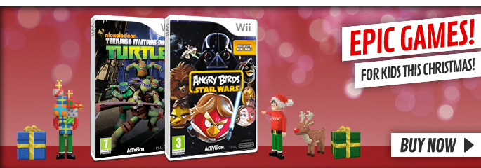 Kids Games this Christmas for Nintendo Wii - Buy Now at GAME.co.uk!