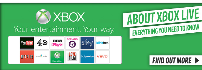 Learn about Xbox LIVE  - At GAME.co.uk!