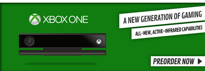 Xbox One Kinect Sensor - Preorder Now at GAME.co.uk!