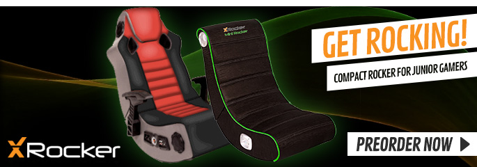 New X-Rocker Gaming Chairs - Preorder Now at GAME.co.uk!