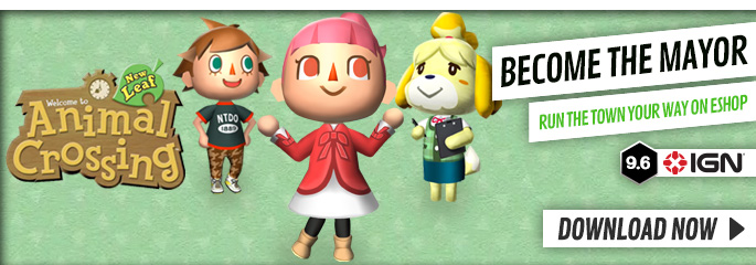 Animal Crossing for Nintendo eShop - Download Now at GAME.co.uk!
