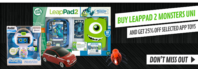 25% Off App Toys - Buy Now at GAME.co.uk!