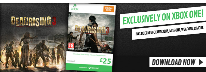Dead Rising 3 Season Pass for Xbox LIVE - Downloads at GAME.co.uk!