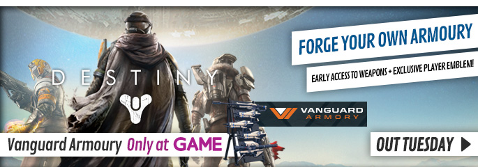 Destiny for Xbox 360 - Preorder Now at GAME.co.uk!