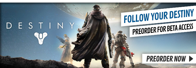 Destiny for Playstation 3 - Preorder Now at GAME.co.uk!