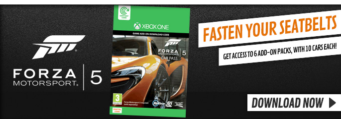 Forza 5 Car Pass for Xbox LIVE - Downloads at GAME.co.uk!