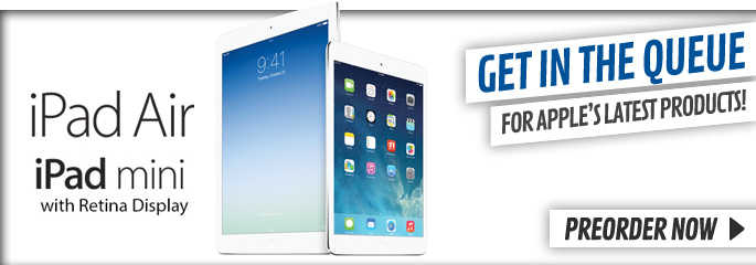 Ipad and Air/ Mini with Retina - Preorder Now at GAME.co.uk!